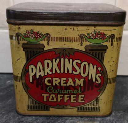 Parkinson's Toffee Tin